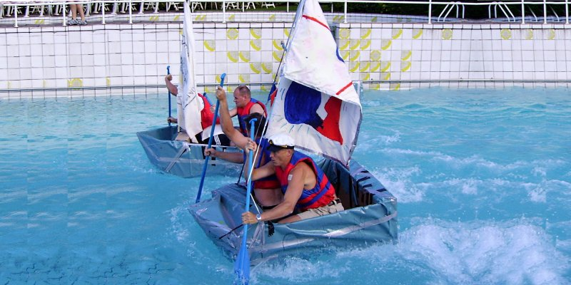 Flat Out Afloat Team Building Event UAE