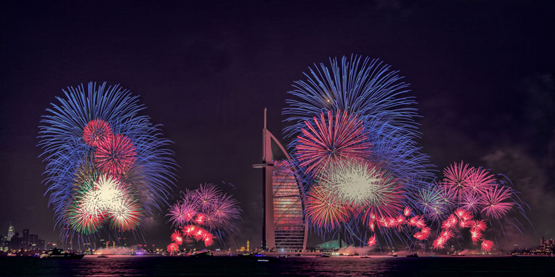 New Year in Dubai, UAE